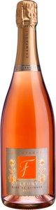 Fleury Rosé De Saignée Brut (Bio), Champagne Bottle
