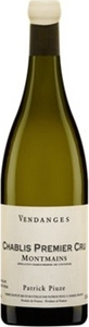 Patrick Piuze Chablis Premier Cru Montmains 2013 Bottle