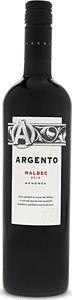 Argento Malbec 2015, Mendoza Bottle