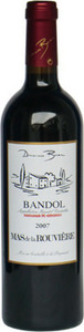 Domaine Bunan Mas De La Rouvière 2010 Bottle