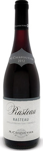 M. Chapoutier Rasteau 2012 Bottle