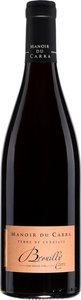Manoir Du Carra Terre De Combiaty Brouilly 2011 Bottle