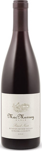 Macmurray Ranch Pinot Noir 2012, Russian River Valley, Sonoma County Bottle