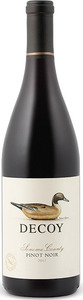 Decoy Pinot Noir 2013, Sonoma County Bottle