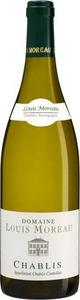 Domaine Louis Moreau Chablis 2013 Bottle