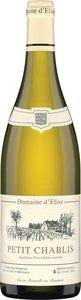 Domaine D'élise Petit Chablis 2013 Bottle