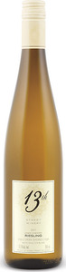13th Street June's Vineyard Riesling 2012, VQA Creek Shores, Niagara Peninsula Bottle