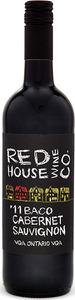 Red House Wine Co Baco Cabernet Sauvignon 2013, VQA Ontario Bottle