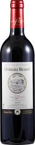 Château Ricaud 2010, Ac Blaye Côtes De Bordeaux Bottle