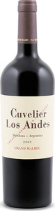 Cuvelier Los Andes Grand Malbec 2009, Uco Valley, Mendoza Bottle