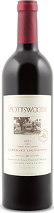 Spottswoode Estate Cabernet Sauvignon 2011, Napa Valley Bottle