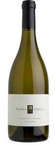 Alpha Omega Unoaked Chardonnay 2012, Napa Valley Bottle