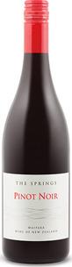 Waipara Springs Reserve Pinot Noir 2013 Bottle