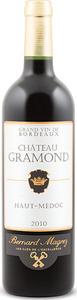Château Gramond 2010, Ac Haut Médoc Bottle