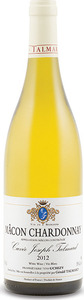 Gerald Talmard Chardonnay Mâcon 2012, Ac Bottle