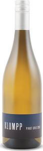 Klumpp Pinot Gris 2013, Qualitätswein Bottle