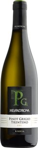 Mezzacorona Pinot Grigio Trentino Riserva 2012 Bottle