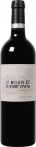 Le Relais De Durfort Vivens 2009, 2nd Wine Of Château Durfort Vivens Bottle