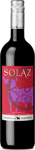 Solaz Tempranillo Cabernet Sauvignon 2012, Castilla León, Spain Bottle