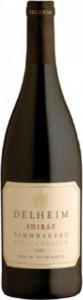 Delheim Shiraz 2012, Wo Simonsberg Stellenbosch Bottle