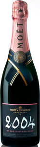 Moët & Chandon Grand Vintage Brut Rosé Champagne 2004, Ac Bottle