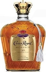 Crown Royal Monarch 75th Anniversary Blend Bottle
