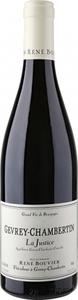 Domaine René Bouvier Gevrey Chambertin La Justice 2012 Bottle