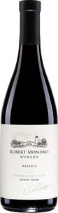 Robert Mondavi Winery Reserve Pinot Noir 2012 Bottle