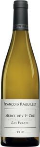 Francois Raquillet Mercurey Premier Cru Les Veleys 2012, Cote Chalonnaise Bottle