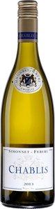 Simonnet Febvre Chablis 2013 Bottle
