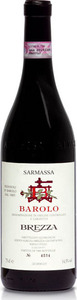 Brezza Sarmassa Barolo 2006 Bottle