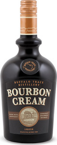 Buffalo Trace Distillery Bourbon Cream, Made With Kentucky Straight Bourbon Bottle