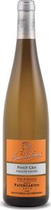 Anne De Laweiss Vieilles Vignes Lieu Dit Patergarten Pinot Gris 2013, Ac Alsace Bottle