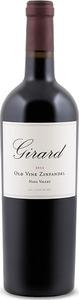 Girard Old Vine Zinfandel 2012, Napa Valley Bottle