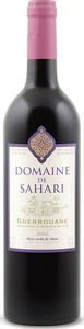 Domaine De Sahari 2012, Ag Guerrouane Bottle