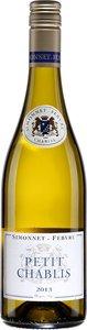 Simonnet Febvre Petit Chablis 2013 Bottle