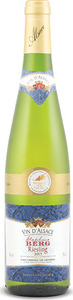 Stéphane Berg Riesling 2013, Ac Alsace Bottle