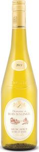 Domaine Bois Malinge Muscadet Sèvre Et Main 2013, Ac Bottle