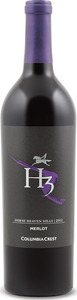 Columbia Crest H3 Merlot 2012, Horse Heaven Hills Bottle
