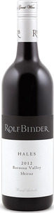 Rolf Binder Hales Shiraz 2012, Barossa Valley, South Australia Bottle