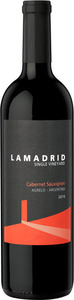 Lamadrid Single Vineyard Cabernet Sauvignon 2012, Agrelo, Luján De Cuyo, Mendoza Bottle