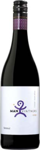 Man Vintners Shiraz 2013, Wo Coastal Region Bottle