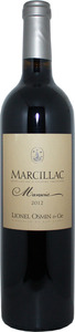 Marcillac Mansois 2012 Bottle