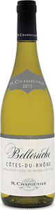 Chapoutier Belleruche Cotes Du Rhone White 2012 Bottle