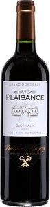 Château Plaisance Cuvée Alix 2005, Ac Premières Côtes De Bordeaux Bottle