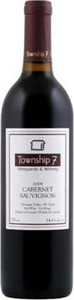 Township 7 Cabernet Sauvignon 2012, BC VQA Okanagan Valley Bottle