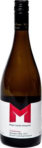 Meyer Chardonnay 2011, BC VQA Okanagan Valley Bottle