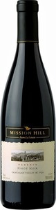 Mission Hill Pinot Noir Rsv 2011, BC VQA Okanagan Valley Bottle