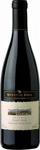Mission Hill Pinot Noir Rsv 2013, BC VQA Okanagan Valley Bottle