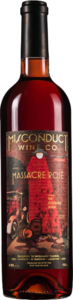 Misconduct Massacre 2012, BC VQA Okanagan Valley Bottle